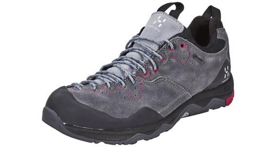 Haglöfs Rocker Leather GT - Zapatillas de montaña Mujer - gris